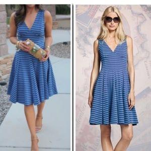 Peter Som Design Nation Ponte Striped Dress